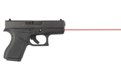 LaserMax LMS-G42 Red Laser on Glock 42, side view