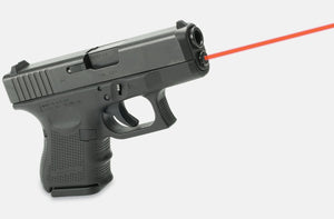 LaserMax LMS-1161-G4 Red Laser on Glock, side view