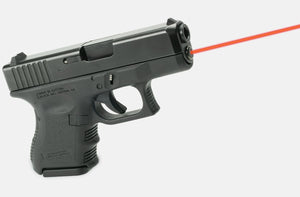 LaserMax LMS-1161 Red Laser on Glock, side view