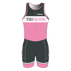 TriBabes Sleeveless Tri Suit