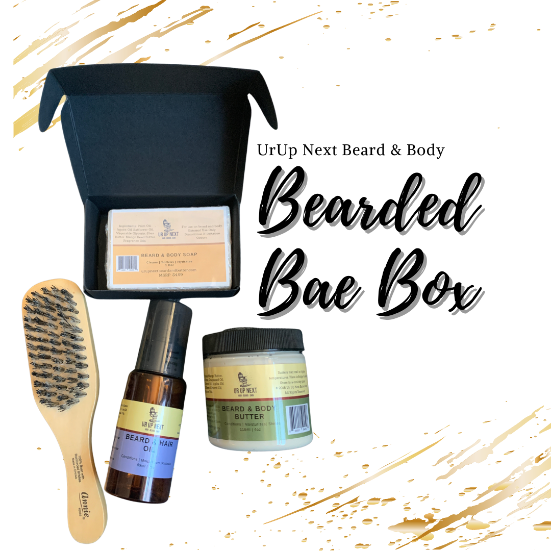 Ur Up Next Beard and Body Gift Set Valentines Day Edition