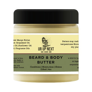 Ur Up Next Men's Grooming Products Beard & Body Butter