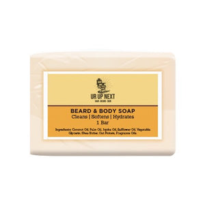 Ur Up Next Men's Grooming Products Beard & Body Soap