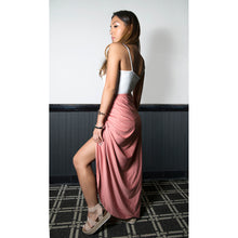 Load image into Gallery viewer, Tessa Draped High Waist Skirt