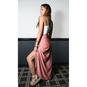 Tessa Draped High Waist Skirt