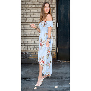 Skye Off Shoulder Maxi Dress