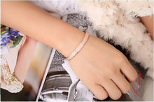 Load image into Gallery viewer, Simple Frosted Bangle Bracelet