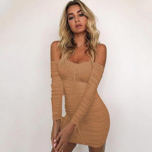 Agnes Off The Shoulder Mini Dress