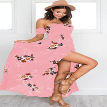 Load image into Gallery viewer, Skye Off Shoulder Maxi Dress