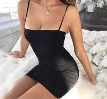 Load image into Gallery viewer, Stacy Apatable Bodycon Mini Dress