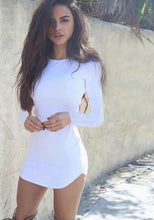 Load image into Gallery viewer, Ida Long Sleeve Mini Dress