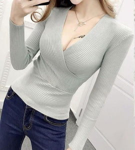 Alma Wrap Sweater