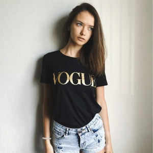 Valor Metallic Vogue Printed T-Shirt