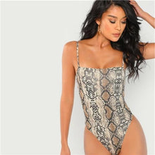 Load image into Gallery viewer, Jordan Snakeskin Bodysuit