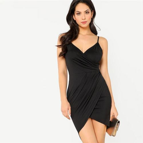 Martha Crisscross Open Back Bodycon Dress