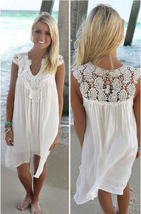 Laura Crochet Insert Dress