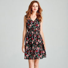 Load image into Gallery viewer, Jessica Flirty Floral Dress