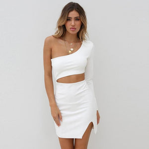 Naomi Curved Cutout Dress