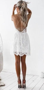 Ashley Feminine Lace Dress
