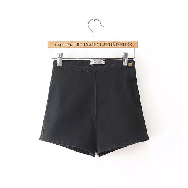 Sonia Vintage Style High Waist Shorts