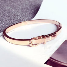 Load image into Gallery viewer, Love Belt Expandable Bangle Bracelet