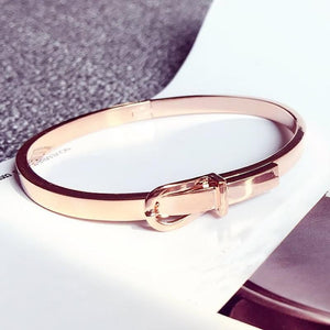 Love Belt Expandable Bangle Bracelet