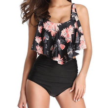 Load image into Gallery viewer, Madison Ruffle High Waist Swimsuit