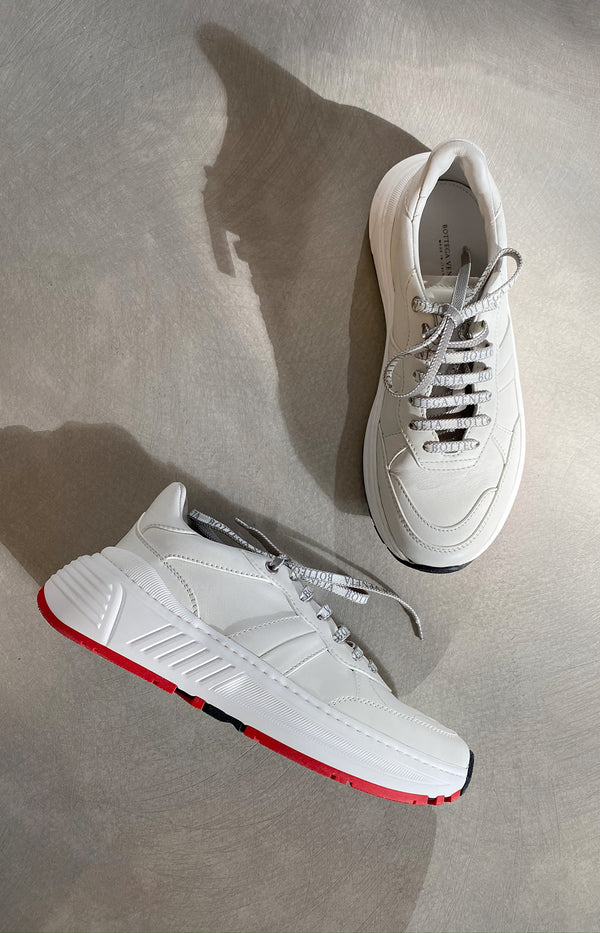 Speedster sneakers in white