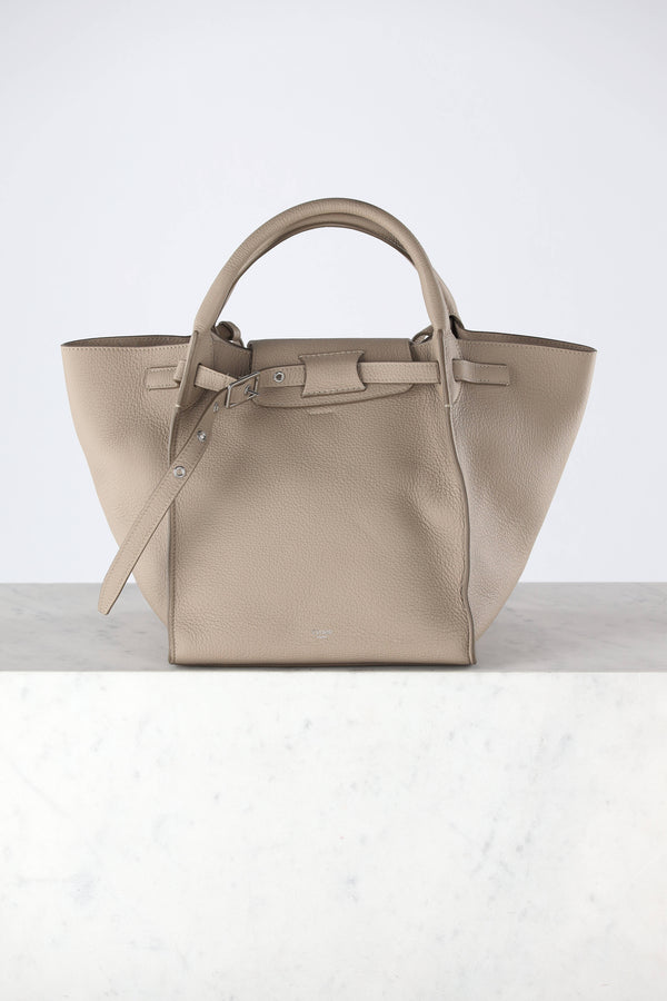 Big Bag Small in light taupe