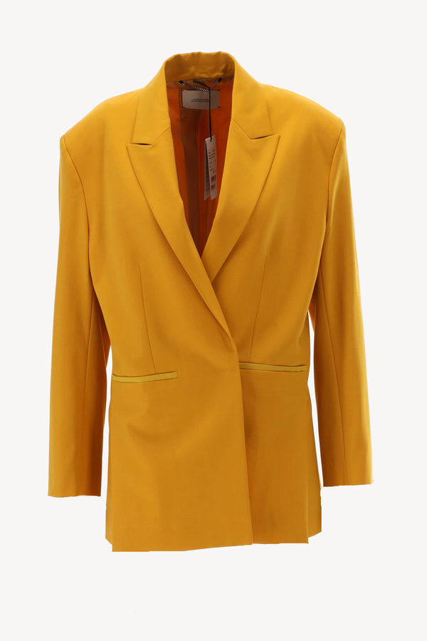 Blazer in Golden Yellow