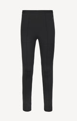 Logo Leggings in Schwarz