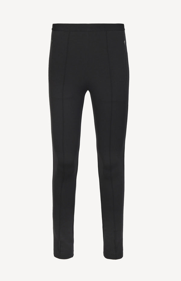 Logo leggings in black