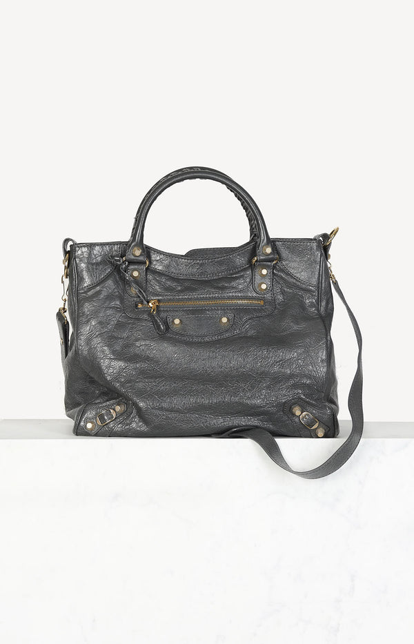 Tasche Classic City in Grau