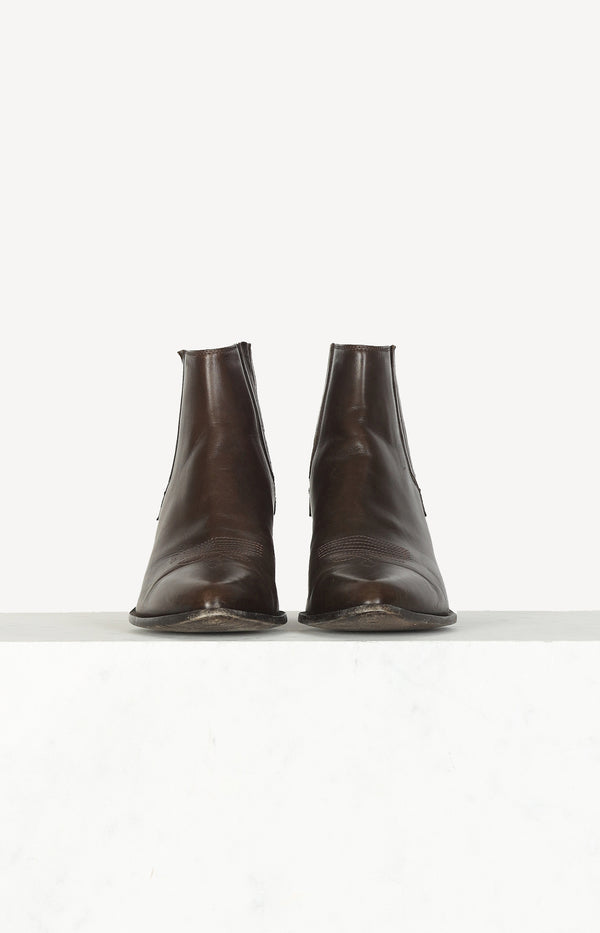 Chelsea Boots in Braun