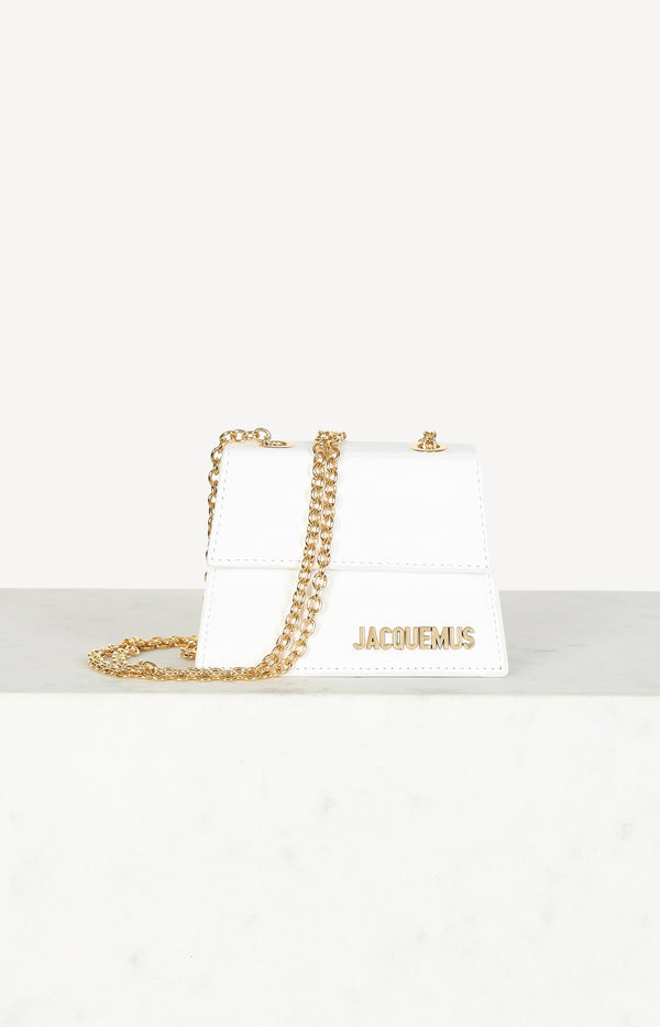 Le Piccolo bag in white