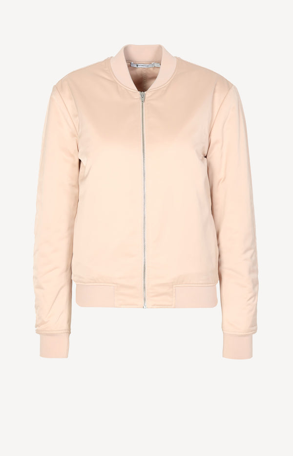 Bomber jacket in rose