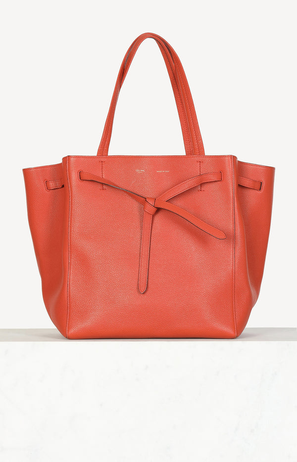 Cabas Phantom bag in orange