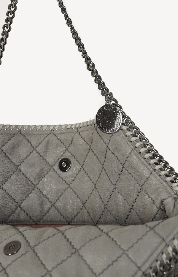 Shopper Falabella Quilted in Grau