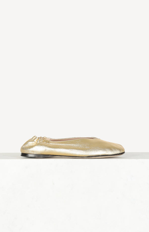 Ballerinas Odry Flats in Gold