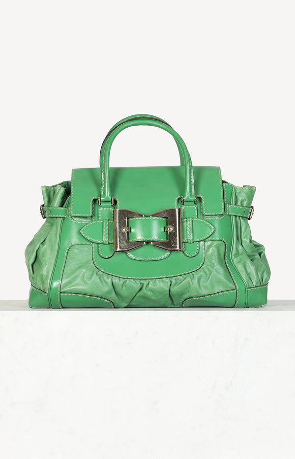 Dialux Queen bag in green