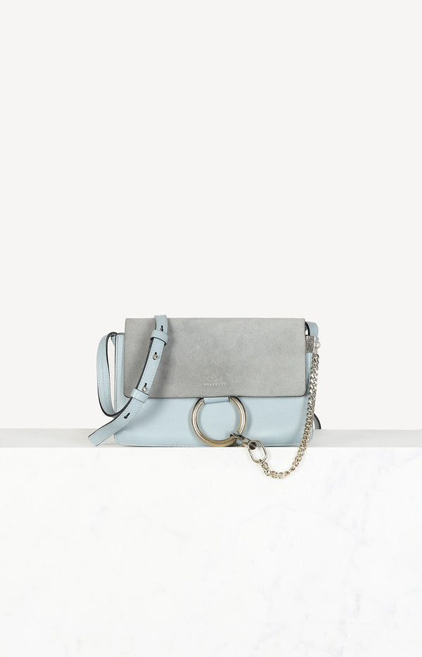 Faye Small bag in light blue