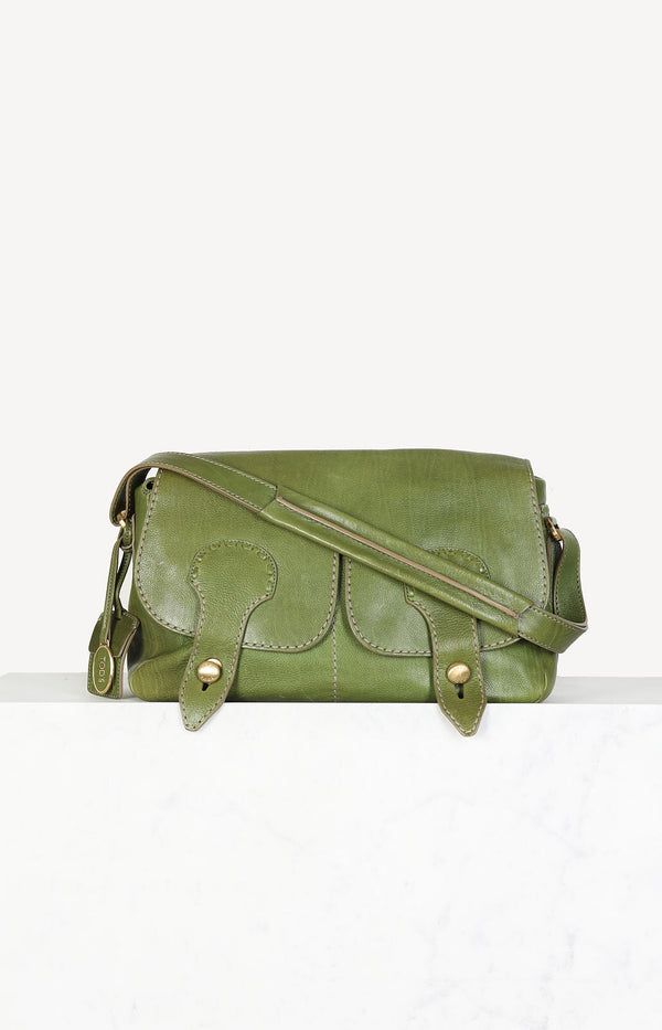 Vintage bag in green