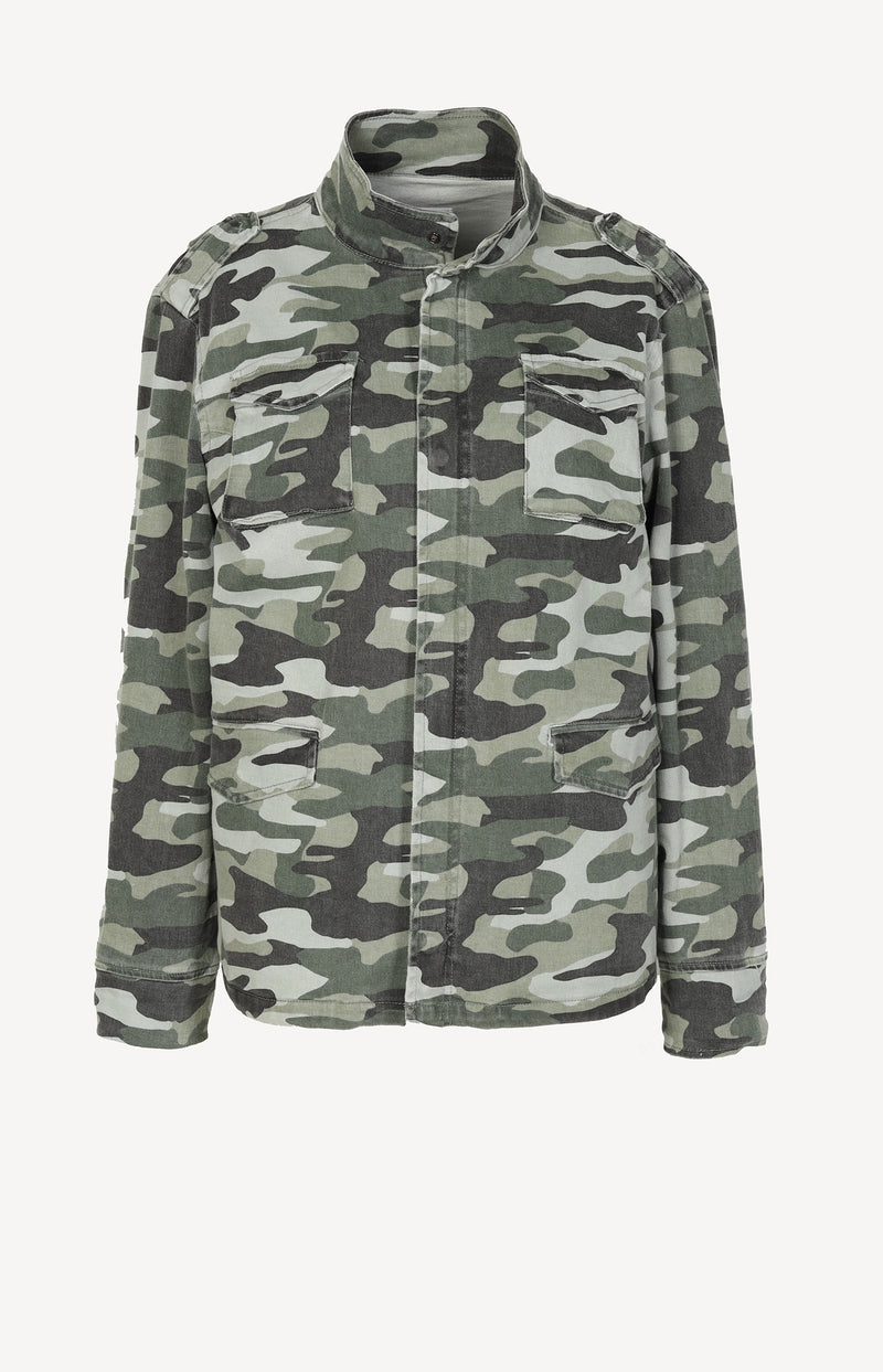 Army Jacke in Khaki