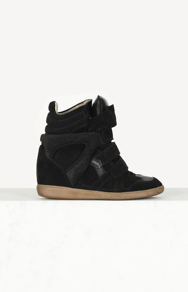 Bekett sneaker in black