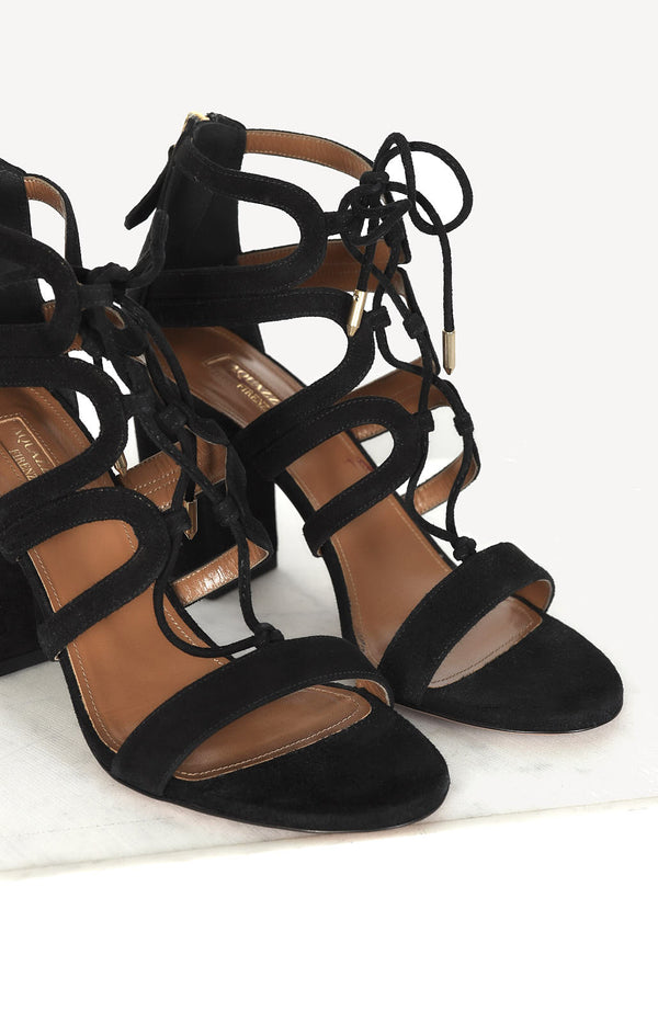 Holli 85 sandals in black