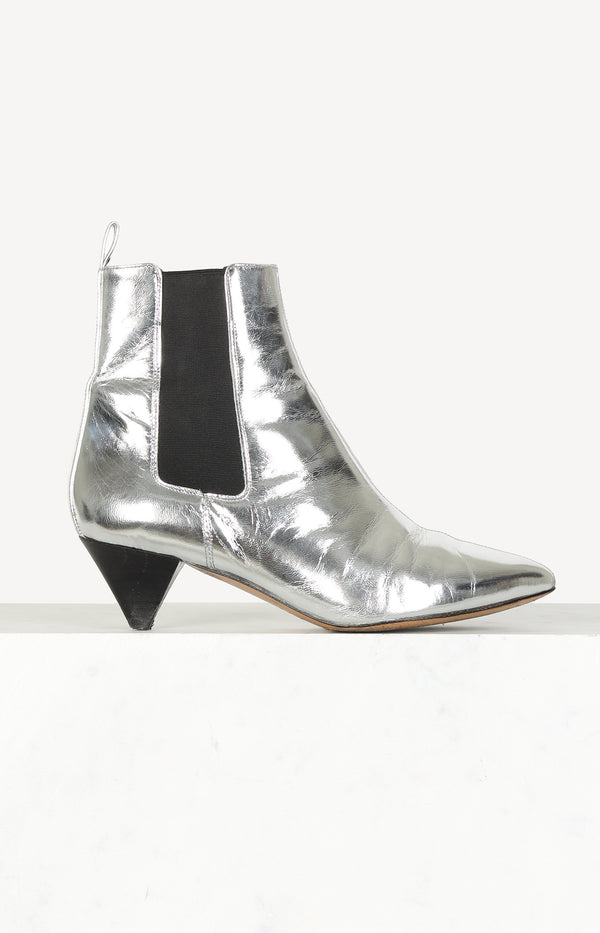 Boots Dawell in Silber
