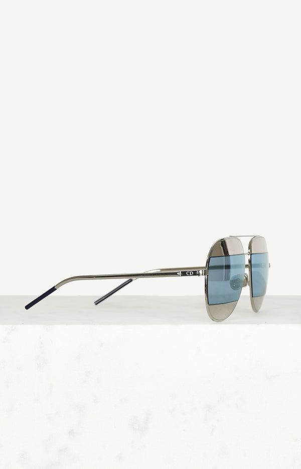 Dior Split sunglasses in silver