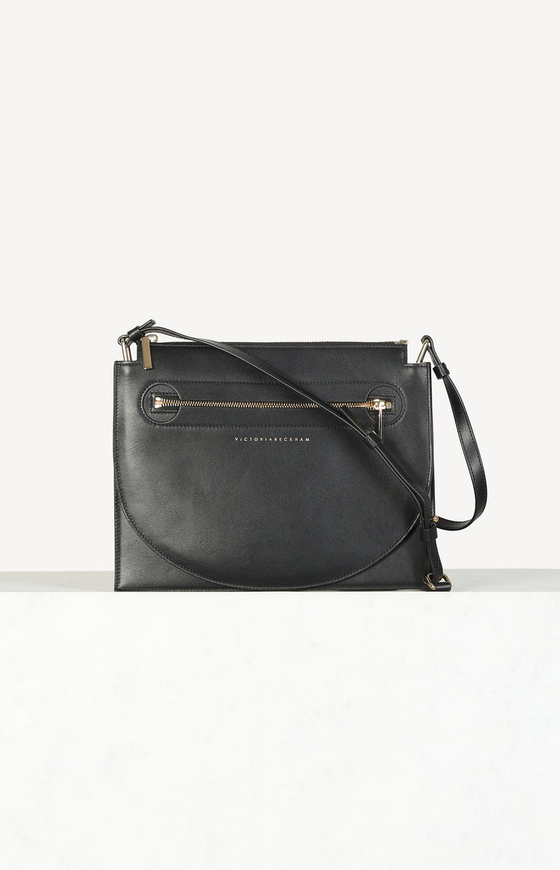 Crossbody-Tasche Moonlight in Schwarz