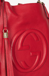 Hobo Bag Soho in Rot