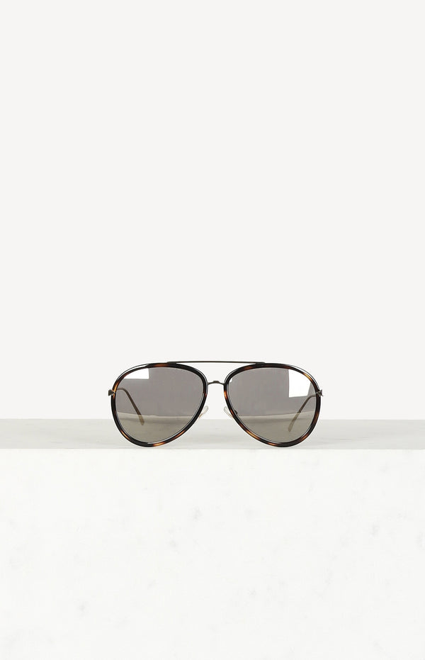 Aviator glasses FF0155 / S in Havana Black